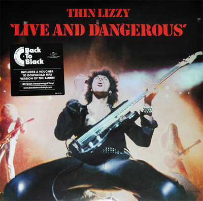 Live and Dangerous - Thin Lizzy - 0600753542743
