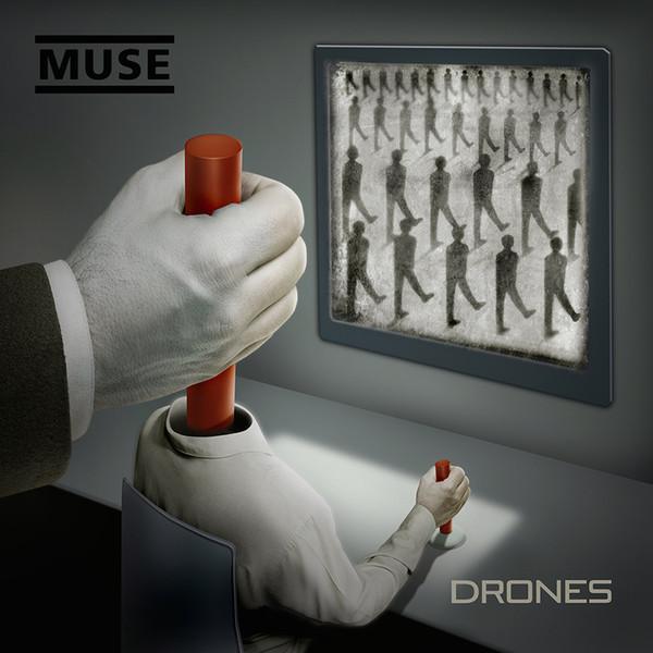 Drones - Muse - 0825646121229
