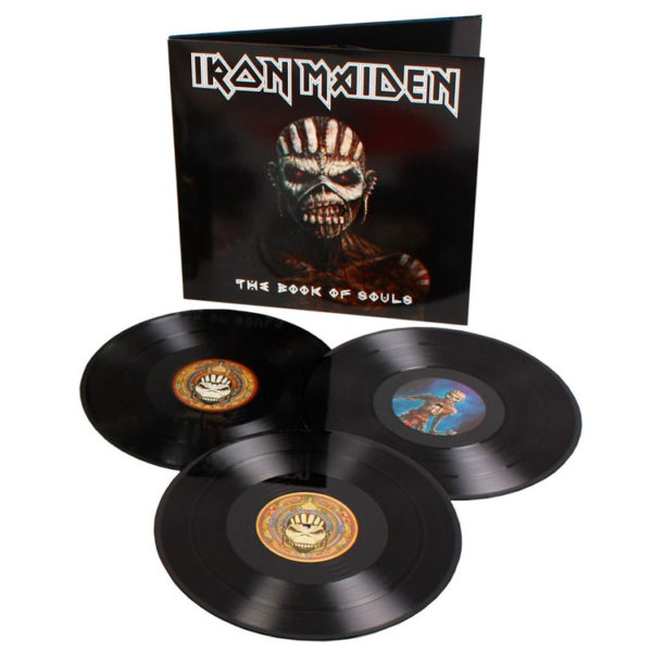 The Book of Souls - Iron Maiden - 0825646089208
