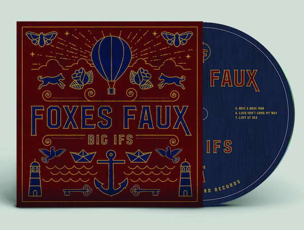 Big Ifs (CD) - Foxes Faux - db008-CD