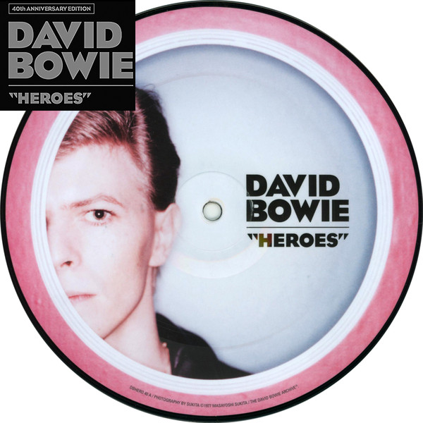 "Heroes (40th Anniversary 7"" Picture Disc) - David Bowie - DBHERO40"