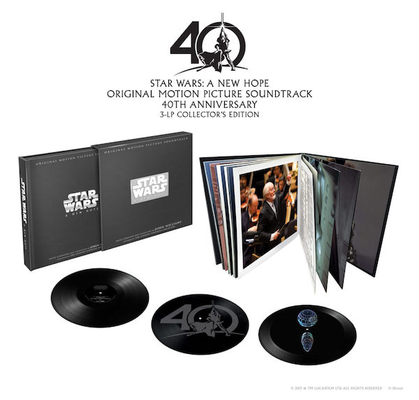 Star Wars Episode IV: A New Hope 40th Anniverary Boxset - John Williams - 8736819