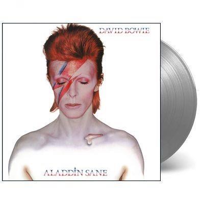 Aladdin Sane (45th anniversary ltd silver vinyl) - David Bowie - 190295679804
