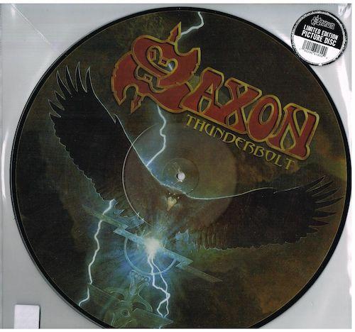 Thunderbolt (Picture Disc) - Saxon - SLM065P52