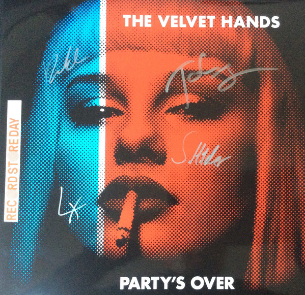 Partys Over - Velvet Hands - Z10LP003