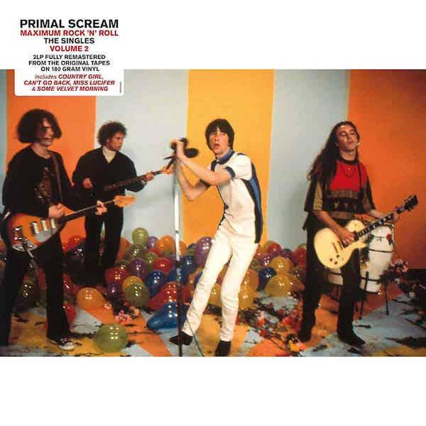 Maximum Rock 'n' Roll: The Singles Vol2 - Primal Scream - 19075933811
