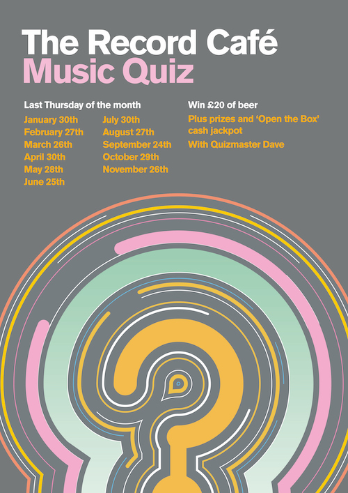 The return of the monthly Music Quiz -