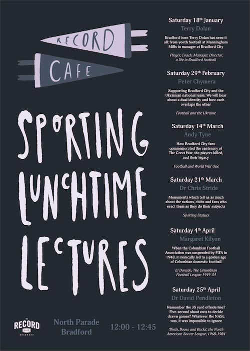 2020 Sporting Lunchtime Lectures -