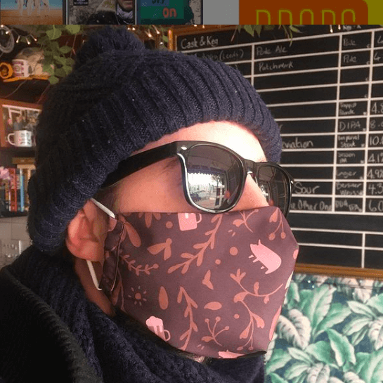 The Record Cafe Facemask - RCMASK