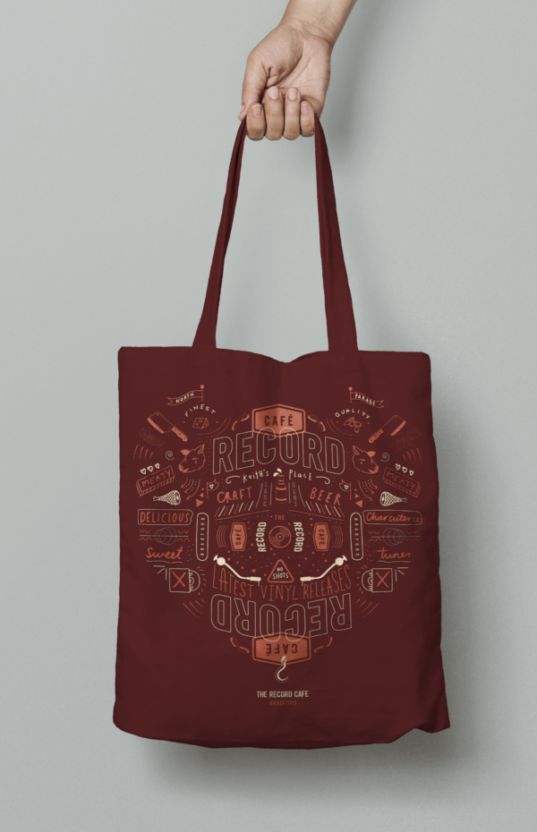 The Record Cafe Tote Bag - RCTOTEBAG