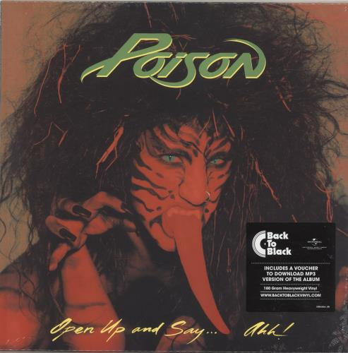 Open Up And Say Ahh! - Poison - 00602567346135