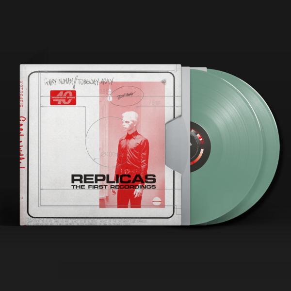 Replicas – The First Recordings - Gary Numan - BBQ2159LP