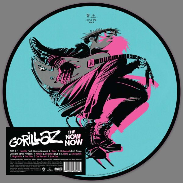 The Now Now (Picture Disc) - Gorillaz - 0190295565282