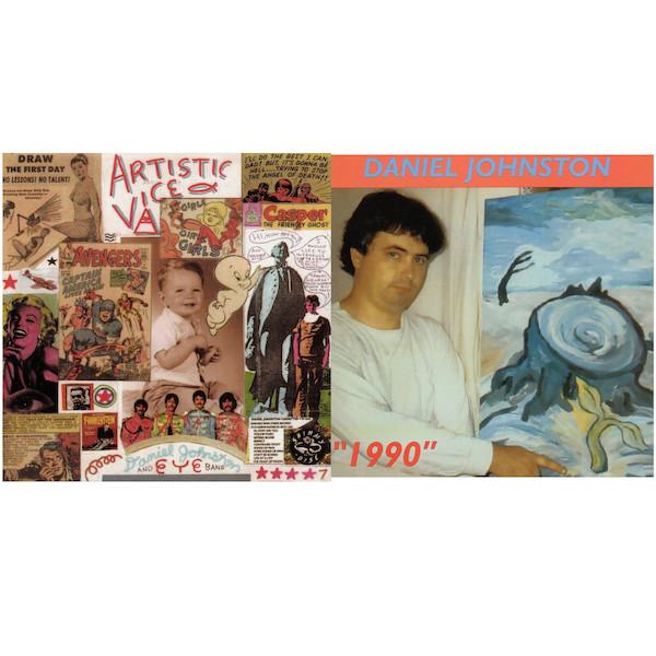 Artistic Vice/1990 - Daniel Johnston - FERALLP38